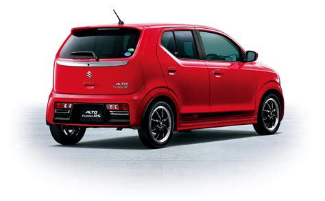 Suzuki Sports Up Its Alto Kei Car With Turbo Rs Version In