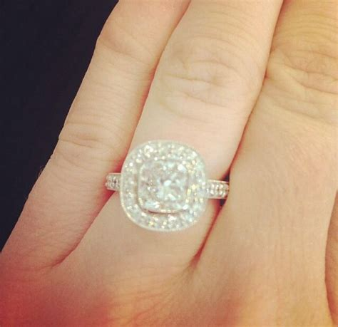 t j oshie s fianc 233 lauren cosgrove engagement ring my