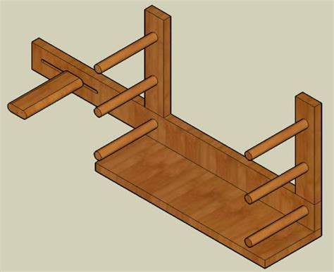 folding rule episode  sketchup plans inkle loom