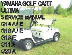 Yamaha Electric Gas Golf Cart Car G11 G14 G16 G19 G20 Shop S