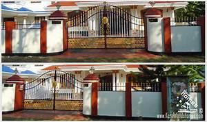 Compound wall designs in kerala joy studio design