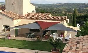 Voile Pour Terrasse : toile tendue pour terrasse 10 voile dombrage notre ~ Premium-room.com Idées de Décoration