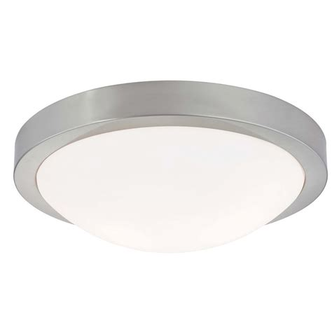 design classics lighting contemporary satin nickel flushmount ceiling light 120
