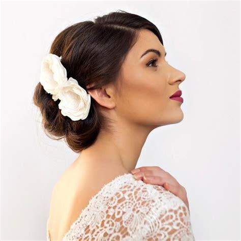 Best 25 Flower Hair Pieces Ideas On Pinterest