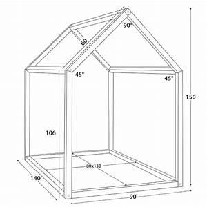 Construire Un Lit Cabane : le lit cabane de e ma p 39 tite bish ~ Melissatoandfro.com Idées de Décoration