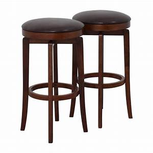 About A Stool : 90 off jc penny jc penny malone backless leather swivel bar stool chairs ~ Buech-reservation.com Haus und Dekorationen
