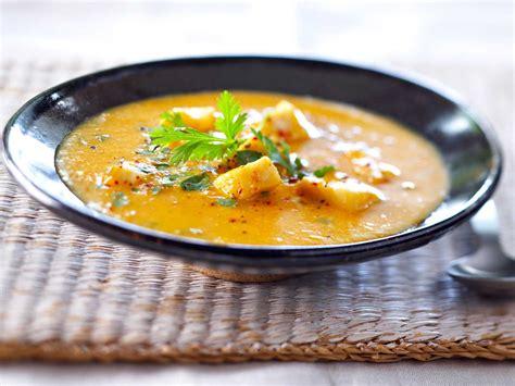 cuisine recette poisson soupe de poisson créole facile recette sur cuisine actuelle