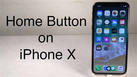 lovely iphone home button how to add a home button to iphone x youtube Lovel