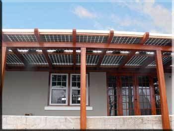 solar awnings provide shade   tax credit