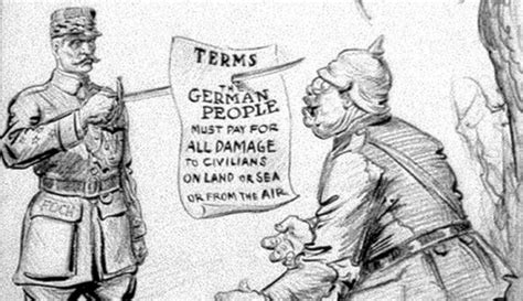 The Irony Of The Treaty Of Versailles Argunners