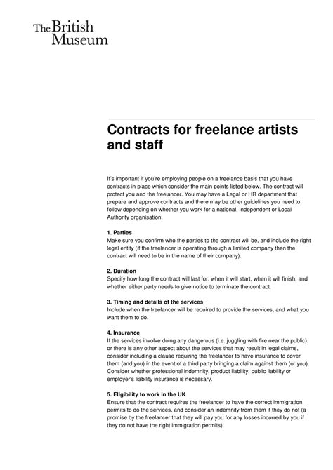 freelance developer contract  templates pages