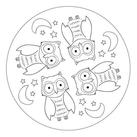 Kleurplaat Regenworm by Mandala Eule Kinder 1117 Malvorlage Eule Ausmalbilder