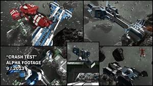 "Space Engineers - ""Crash Test"" - Alpha Footage 9/2013 ..."