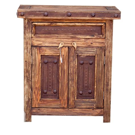 Rustic Bathroom Furniture by Wilson Metal Vanity 910234 Mexican Style Rustic