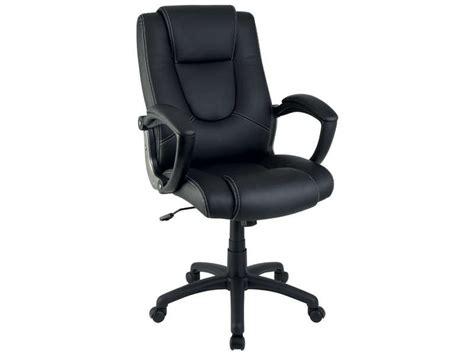fauteuil de bureau sam coloris noir vente de fauteuil de bureau conforama