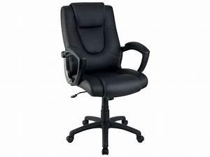 Conforama Chaise Bureau : fauteuil de bureau sam coloris noir vente de fauteuil de bureau conforama ~ Teatrodelosmanantiales.com Idées de Décoration