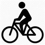 Icon Biking Bike Bicycle Cyclist Ride Icons