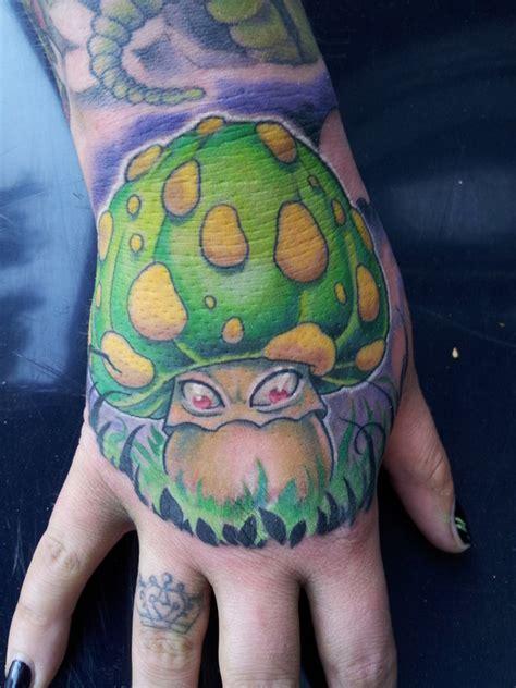 evil mushroom tattoos