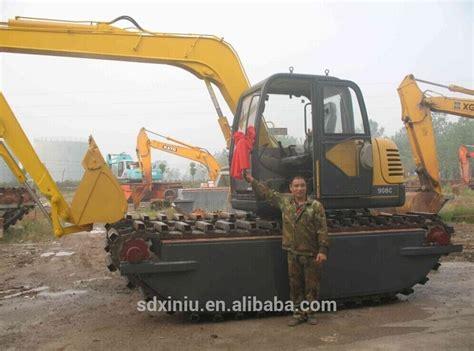 ton amphibious excavator swamp excavator marsh buggy buy amphibious excavator swamp