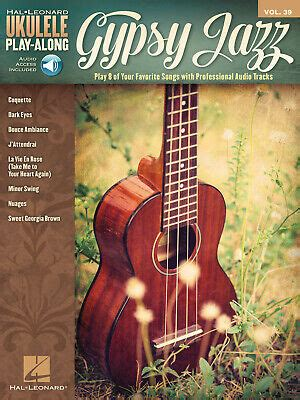 Over 1000 songs you can learn to play! Gypsy Jazz for Ukulele Play-Along Vol 39 Tab Sheet Music Song Book Online Audio 888680070649   eBay