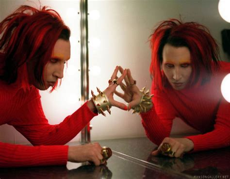 Mechanical Animals Wallpaper - add a caption we it marilyn and