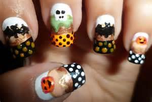 Halloween nail art designs acrylic