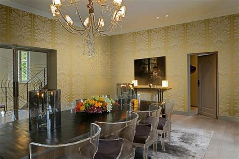 modern wallpaper  jacquard texture bringing vintage