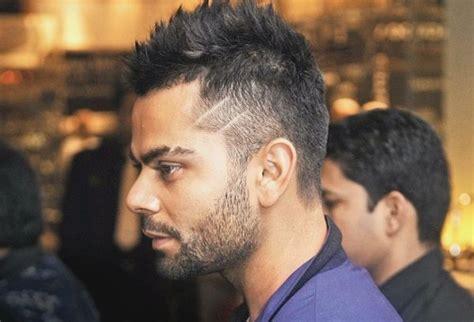 virat kohli aggressive bold hairstyle