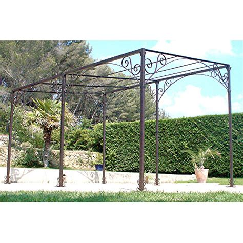 photo pergola fer forge pergola fer forg 233 leroy merlin