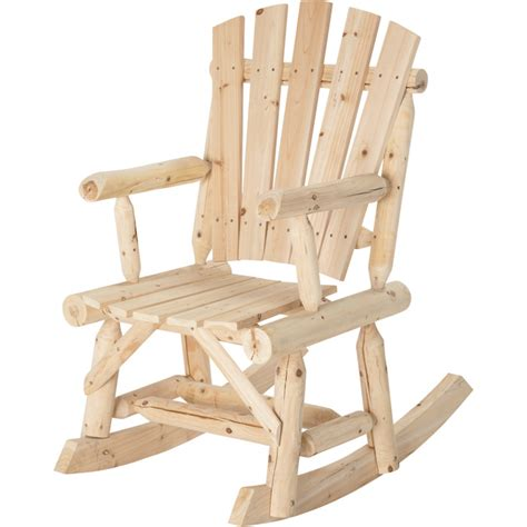 Tractor Supply Log Rocking Chair by Stonegate Designs Log Adirondack Rocking Chair Model T