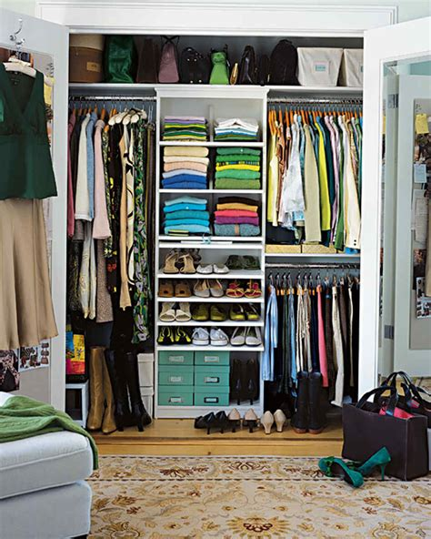 Organizing Closet Space by Save Space In Closets Hallways And More Martha Stewart