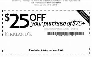 Kirklands Printable Coupons November 2014