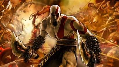 4k God Kratos War Wallpapers Games Backgrounds