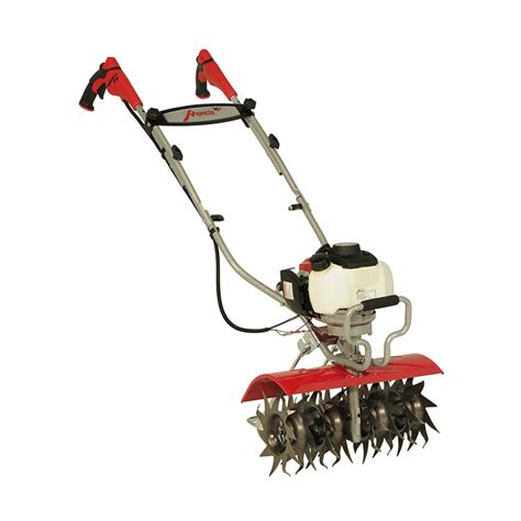 garden tillers at lowes shop mantis mini tiller cultivator 35 cc 16 in front tine