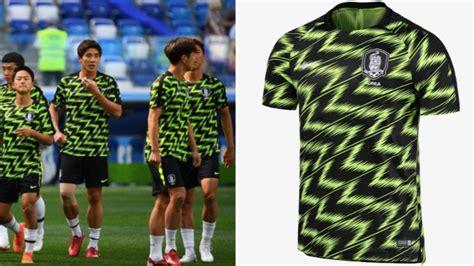 south koreas pre match jersey deserves  lot