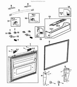 Samsung Da97-11895d Assy-cap Handle Fre R Aw