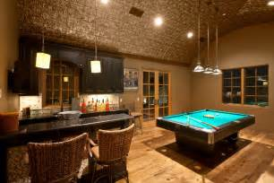 Game Room Ideas with Tin Ceiling