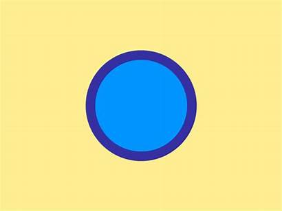 Circle Animation Effects Round Morph Dribbble Different
