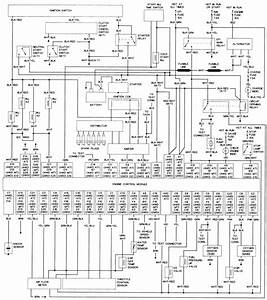 87 Toyota Pickup Fuse Box Diagram