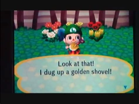 How To Get A Golden Shovel In Animal Crossing City Folk 6