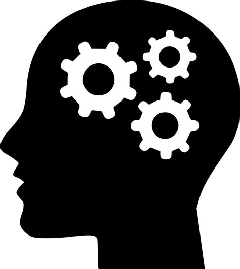 thinking brain png process thinking svg png icon free 453739