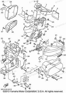 Yamaha Motorcycle 2002 Oem Parts Diagram For Side Cover
