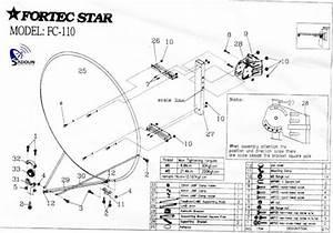 Satellite Dish Diagram