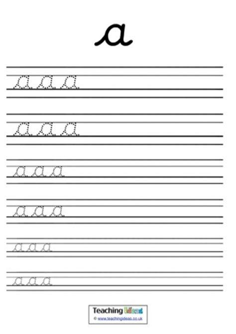 cursive letters  lines teaching ideas