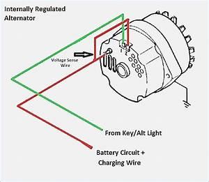 Delco Remy Alternator Wiring Schematic