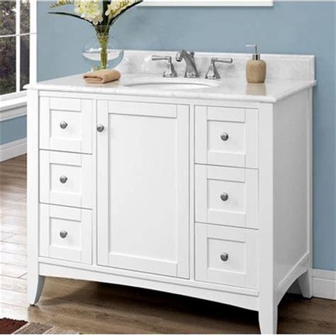 shaker americana 42 quot traditional single sink bathroom