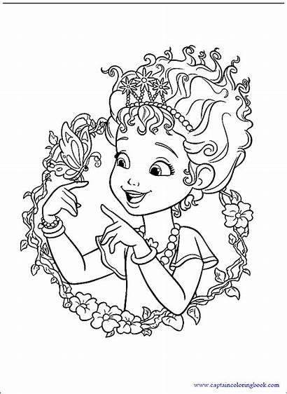 Nancy Fancy Coloring Disney Cartoon Butterfly Junior