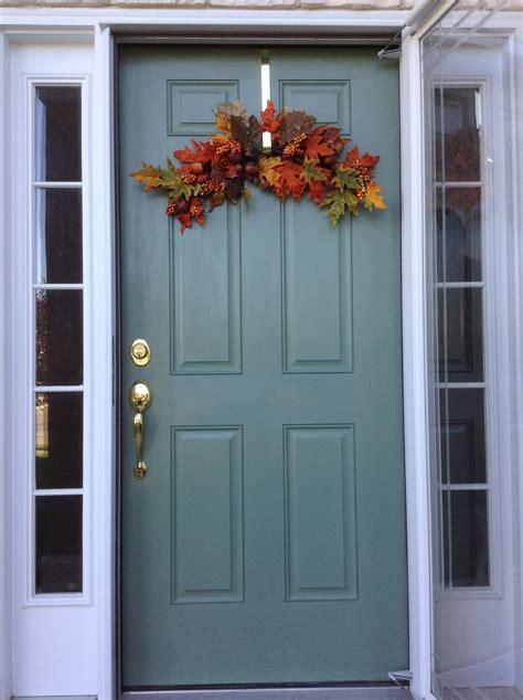 accent door love  sherwin williams privilege green