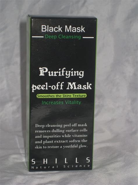 comment on shills black mask purifying peel mask