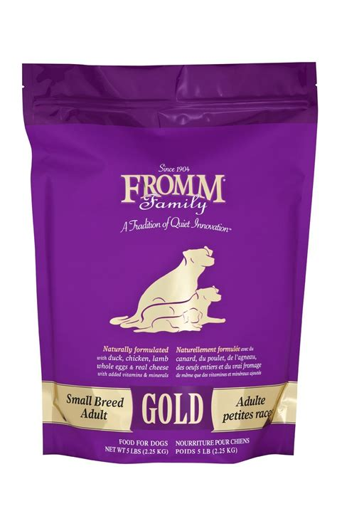 fromm dog food gold small breed hollywood feed